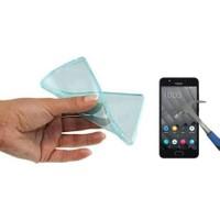 Teleplus Casper Via M2 Darbe Emicili Silikon Kılıf + Kırılmaz Cam