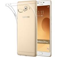 Teleplus Samsung Galaxy C9 Pro Darbe Emicili Silikon Kılıf