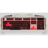 Gang GK06 TR Q 3 Renk Led Işıklı Multimedya Oyuncu Klavye