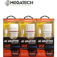 Megatech Ys-102 2.1A Dual Usb Micro Şarj