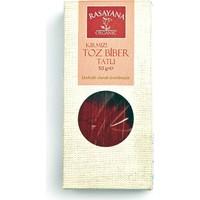 Rasayana Organik Tatlı Kırmızı Toz Biber 50 Gr.