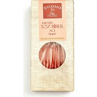 Rasayana Organik Acı Kırmızı Toz Biber 50 Gr.