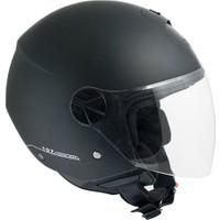 CGM Florence Siyah Açık Motosiklet Kaskı Uzun Vizör 107A-FLA-01A XSmall