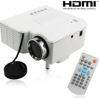Mastek Led Mini Projeksiyon Cihazı Ev Sineması USB+HDMI AN-6820