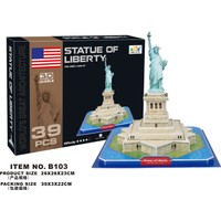 Cc Oyuncak 3D Puzzle Statue Of Liberty - 39 Parça
