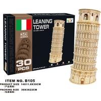 Cc Oyuncak 3D Puzzle Lening Tower - 30 Parça