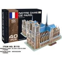 Cc Oyuncak 3D Puzzle Notre Dame De Paris - 40 Parça