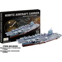 Cc Oyuncak 3D Puzzle Nimitz Aircraft Carrier - 70 Parça