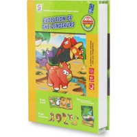Cc Oyuncak Evolution Of The Dinosaurs Magnetic Kitap