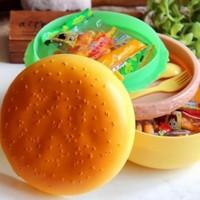 Anka Hamburger Şeklinde Beslenme Ve Saklama Kabı
