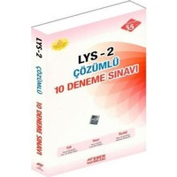 Esen Yayınları Lys 2 Çözümlü 10 Deneme