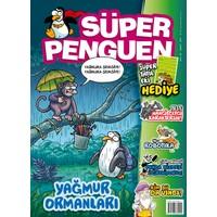 Süper Penguen Çocuk Mizah Dergisi Şubat 2017 Sayısı