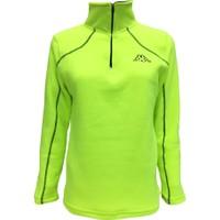 Kappa Kadın Yarım Fermuarlı Polar Sweatshirt Sarı 1303PXS0T01