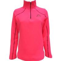 Kappa Kadın Yarım Fermuarlı Polar Sweatshirt Pembe 1303PXS0XE5