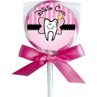 Bebekparti Diş Prensesi Diş Buğdayı Lolipop Şekeri 20 Adet