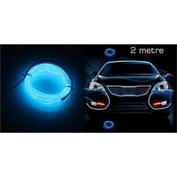 Modacar 6'lı Paket Mavi Tube Neon Kablo 2 Metre 378815
