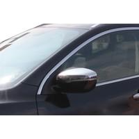 Spider Nissan New Qashqai J 11 Ayna Kapağı 2 Parça Paslanmaz Çelik 2014 Üzeri Modeller