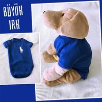 Kemique Mavi Sweatshırt - Büyük Irk - By Kemique Köpek Kıyafeti Köpek Elbisesi