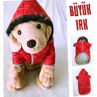 Kemique Büyük Irk - Kırmızı- Poof By Kemique - Köpek MontuKöpek Paltosu - Köpek Kıyafeti