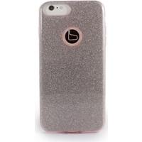 Baranar-Life Apple iPhone 7 Plus Simli Silikon Kılıf + Yüzük