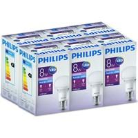 Philips Led Ampul E27 8W 6500K Beyaz Işık - 6 Adet