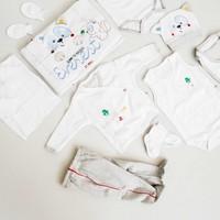İmaj Erkek Bebek Hastane Çıkışı Yeni Doğan Seti Antialerjik 10'lu İ08