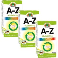 Sunlife A-Z+ Lutein 1 Mg 60 Tablet - 3 Adet