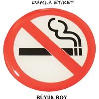 Damla Etiket Sigara İçilmez Büyük Gliptone Carat