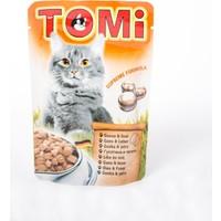 TOMI Pouch Kazlı ve Ciğerli Kedi Maması -100 Gr 20'li