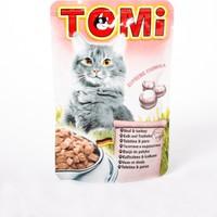TOMI Pouch Danalı ve Hindili Kedi Maması -100 Gr 20'li