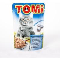 TOMI Pouch Somonlu ve Alabalıklı Kedi Maması -100 Gr 20'li
