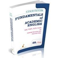 Fundamentals of Academic English - Cesur Öztürk