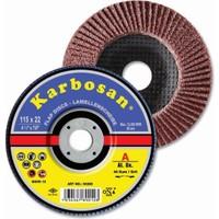 Karbosan Flap 115X22 Mm Nk-40 Kum
