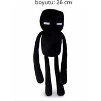 Minecraft 26 cm Peluş Black Enderman Figür