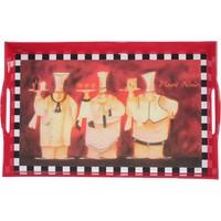 LoveQ Tepsi Dekoratif Dikdörtgen 40 x 25 Cm