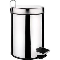 LoveQ Paslanmaz Metal Pedallı Çöp Kovası 5Lt
