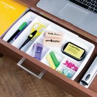 Kozmetik ürünleriniz için çekmece içi ayarlanabilir organizer