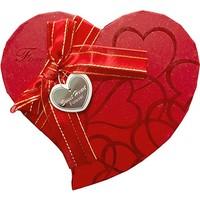 KullanAtMarket Altın Simli Kalp Kutu Küçük Boy