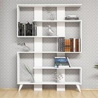 Hepsiburada Home Jane Kitaplık Beyaz/Beyaz
