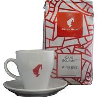 Julius Meinl Auslese Filtre Kahve + Beyaz Cappucino Fincanı