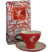 Julius Meinl Auslese Filtre Kahve + Özel Kırmızı Cappucino Fincanı