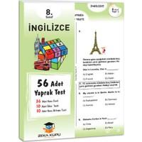 Zeka Küpü Yayınları 8. Sınıf İngilizce Yaprak Test