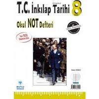 Mutlu Yayınları 8. Sınıf Tc İnkılap Tarihi Okul Not Defteri