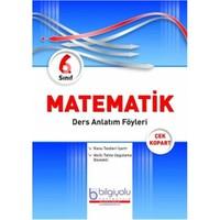 Bilgi Yolu Yayınları 6. Sınıf Matematik Ders Anlatım Föyleri