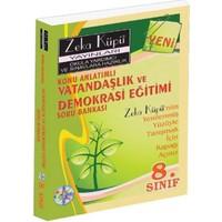 Zeka Küpü Yayınları 8 Vatandaşlık ve Demokrasi Eğitimi Konu Anlatımlı Soru Bankası