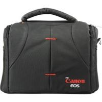 Canon DSLR Fotoğraf Makinesi SaRa Set Çanta Kare Çanta
