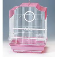 Qh Pet Cage Kafes 34,5X28X45,5 Kafes Pirinç Yayvan Tepe Düz Çatı