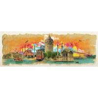 Art Puzzle İstanbul Kolajı Panorama 1000 Parça Puzzle