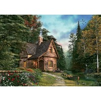 Art Puzzle Kütük Ev 1500 Parça Puzzle