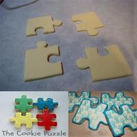 Nomnom Yap Boz Puzzle Kurabiye Kalıbı Seti 4 lü Kalıp